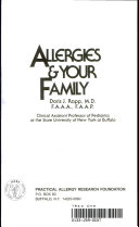 Allergies and Your Family