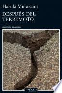 Despu  s del terremoto