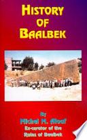 History of Baalbek