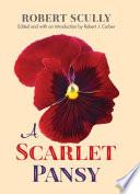 A Scarlet Pansy