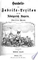 Handels- und Fabriks-Lexikon für das Königreich Bayern