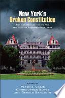 New York s Broken Constitution