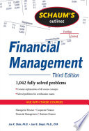 Schaum s Outline of Financial Management  Third Edition
