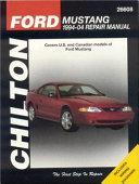 Chilton S Ford Mustang 1994 04 Repair Manual