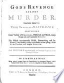 God s Revenge Against Murder Book PDF