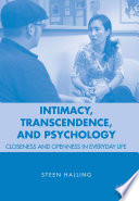Intimacy  Transcendence  and Psychology