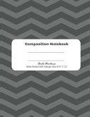 Black Stripe Composition Notebook