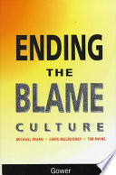 Ending the Blame Culture