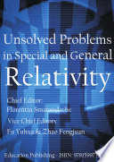Unsolved Problems in Special and General Relativity Pdf/ePub eBook