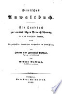 Deutsches Anwaltbuch