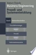 Business Engineering  Proze    und Systementwicklung