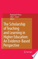 The Scholarship of Teaching and Learning in Higher Education  An Evidence Based Perspective