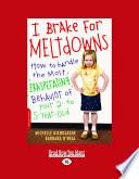 I Brake for Meltdowns