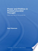 Power and Politics in Poststructuralist Thought