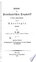 Geschichte der protestantischen Dogmatik: Bd. Der Synkretismus. Die Schulbildungen der reform. Theologie. Der Pietismus