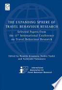 The Expanding Sphere of Travel Behaviour Research