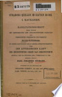 Strabons Quellen im elften Buche