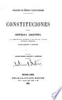 C  digos y leyes usuales de la Rep  blica Argentina  Constituciones  C  digo civil