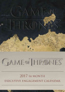 Game Of Thrones 2016 2017 16M Desk Diary