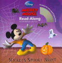 Mickey   s Spooky Night Read Along Storybook and CD