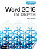 Word 2016 In Depth  includes Content Update Program