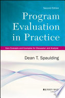Program Evaluation in Practice