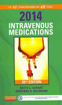 2014 Intravenous Medications