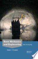 Rock Mechanics And Engineering Volume 1