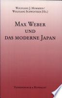 Max Weber und das moderne Japan