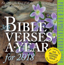 365 Bible Verses A Year Page A Day Calendar 2018
