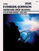 Johnson Evinrude Four stroke Outboard Motor Shop Manual