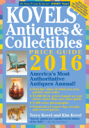 Kovels  Antiques and Collectibles Price Guide 2016