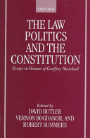 The Law  Politics  and the Constitution