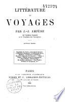 Littérature et voyages