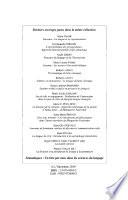 Dictionnaire Terminologique De La Systématique Du Langage par André Joly, Annie Boone