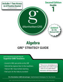 Algebra GRE Strategy Guide  2nd Edition
