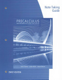 Note Taking Guide for Stewart Redlin Watson S Precalculus  Mathematics for Calculus  7th