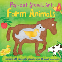 Pop Out Stencil Art  Farm Animals