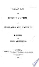 The Last Days of Herculaneum