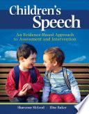 Children s Speech