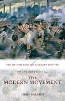 The Oxford English Literary History  Volume 10  1910 1940  The Modern Movement
