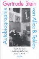 Autobiographie von Alice B  Toklas