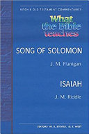 Wtbt Vol 5 OT Song of Solomon Isaiah PB Christians Understand The Song As