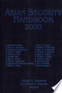 Asian Security Handbook 2000