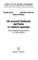 Gli accordi bilaterali dell Italia in materia spaziale