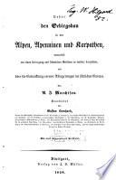 Ueber den Gebirgsbau in den Alpen