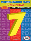 Multiplication Facts in 7 Days  Grades 3 5  A Simple Method for Success