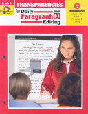 Transparencies for Daily Paragraph Editing
