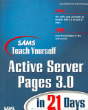 Sams Teach Yourself Active Server Pages 3 0 in 21 Days