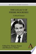 The Legacy of Pierre Bourdieu